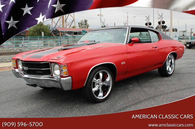 1971 Chevrolet Chevelle Malibu for sale at American Classic Cars in La Verne CA