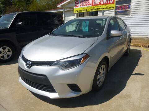 2015 Toyota Corolla for sale at Ed Steibel Imports in Shelby NC