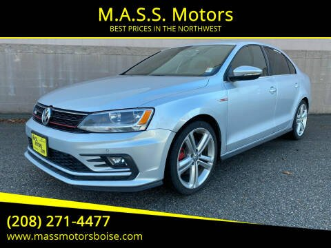 2016 Volkswagen Jetta for sale at M.A.S.S. Motors in Boise ID