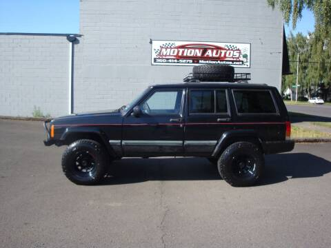 2000 Jeep Cherokee for sale at Motion Autos in Longview WA