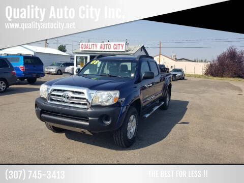 2008 Toyota Tacoma for sale at Quality Auto City Inc. in Laramie WY
