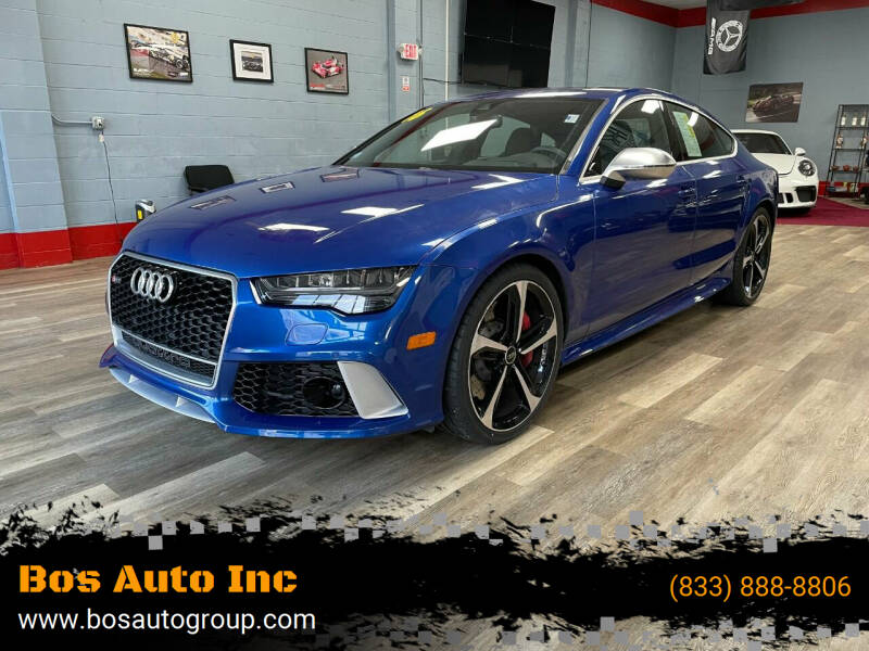 2016 Audi RS 7 for sale at Bos Auto Inc in Quincy MA