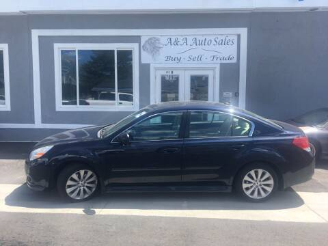 2012 Subaru Legacy for sale at A&A Auto Sales in Orem UT