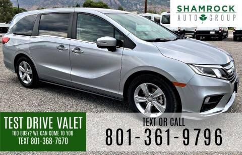 2019 Honda Odyssey for sale at Shamrock Group LLC #1 in Pleasant Grove UT