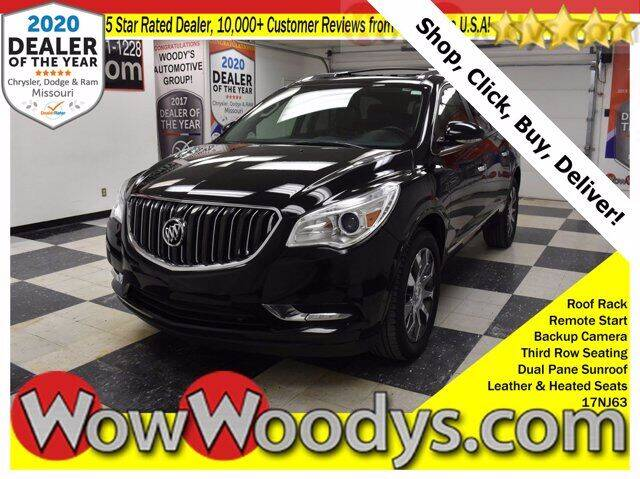 2017 Buick Enclave for sale at WOODY'S AUTOMOTIVE GROUP in Chillicothe MO