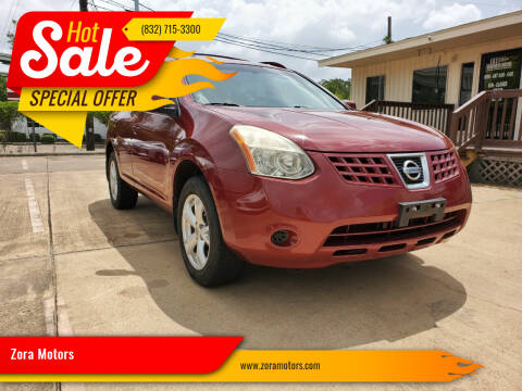 2008 Nissan Rogue for sale at Zora Motors in Houston TX