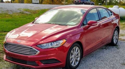 2017 Ford Fusion for sale at Dealz on Wheelz in Ewing KY