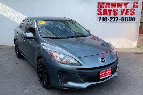 2013 Mazda MAZDA3 for sale at Manny G Motors in San Antonio TX