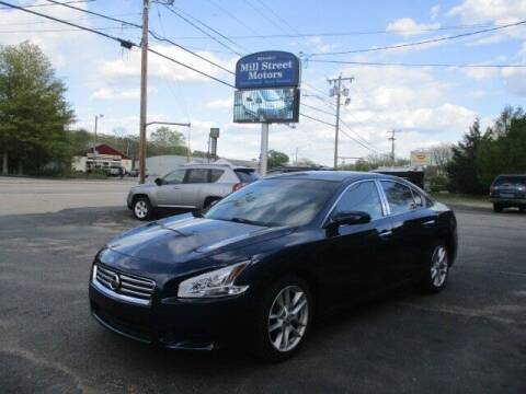 2013 Nissan Maxima for sale at Mill Street Motors in Worcester MA