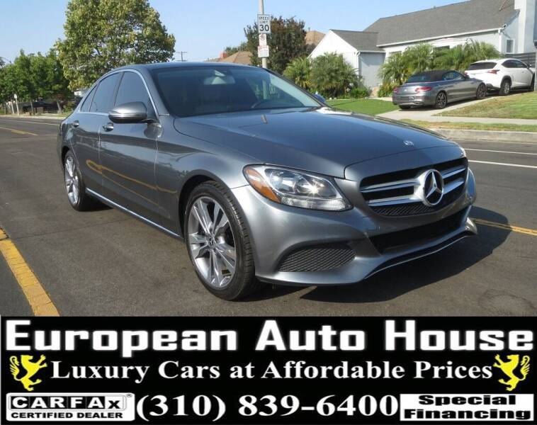 2017 Mercedes-Benz C-Class for sale at European Auto House in Los Angeles CA