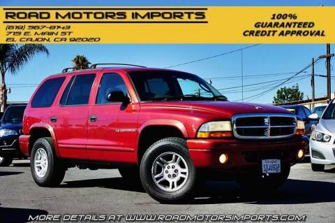 2001 Dodge Durango for sale at Road Motors Imports in El Cajon CA