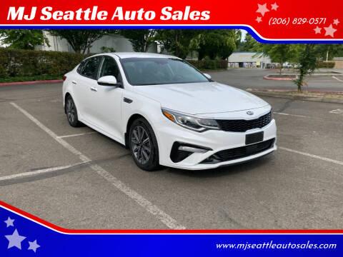 2019 Kia Optima for sale at MJ Seattle Auto Sales in Kent WA