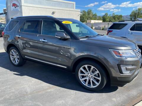 2017 Ford Explorer for sale at Salida Auto Sales in Salida CO