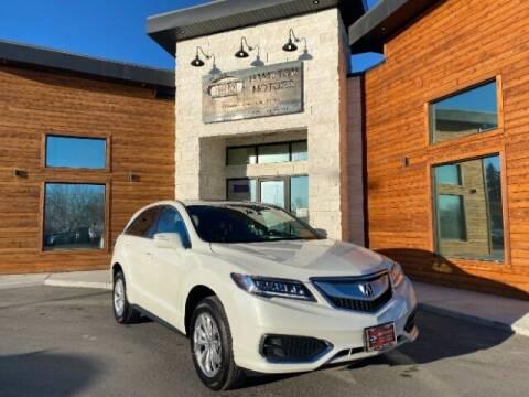 2018 Acura RDX for sale at Hamilton Motors in Lehi UT