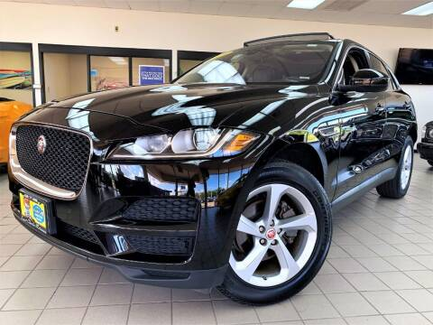 2019 Jaguar F-PACE for sale at SAINT CHARLES MOTORCARS in Saint Charles IL