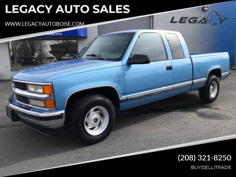 1996 Chevrolet C/K 1500 Series for sale at LEGACY AUTO SALES in Boise ID