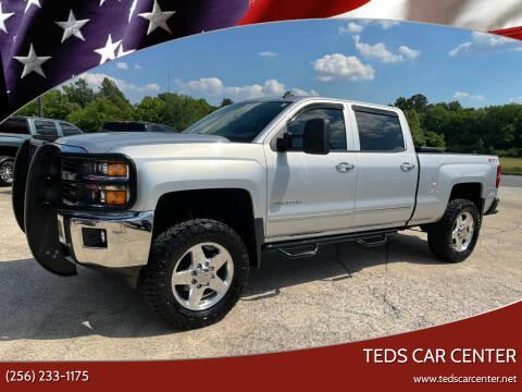 2015 Chevrolet Silverado 2500HD for sale at TEDS CAR CENTER in Athens AL