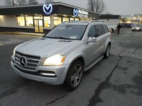 2011 Mercedes-Benz GL-Class for sale at MacDonald Motor Sales in High Point NC