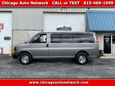 2009 Chevrolet Express Passenger for sale at Chicago Auto Network in Mokena IL