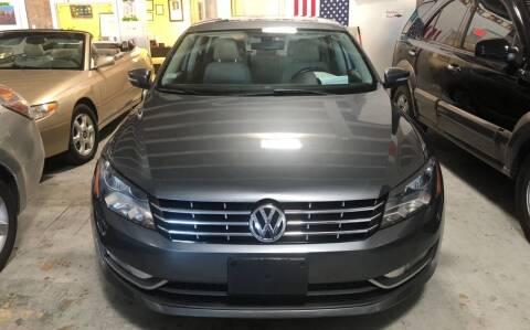 2013 Volkswagen Passat for sale at Auto Credit & Finance Corp. in Miami FL