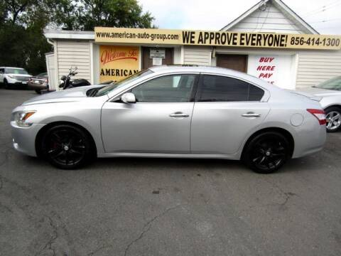 2011 Nissan Maxima for sale at American Auto Group Now in Maple Shade NJ
