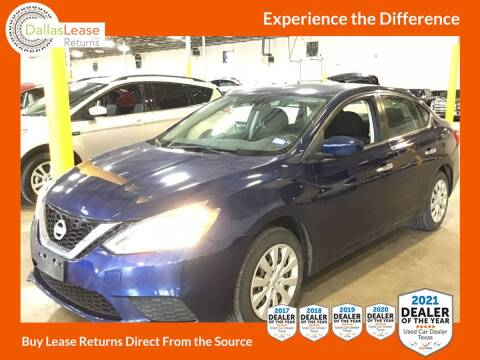 2017 Nissan Sentra for sale at Dallas Auto Finance in Dallas TX