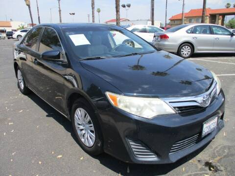 2013 Toyota Camry for sale at F & A Car Sales Inc in Ontario CA