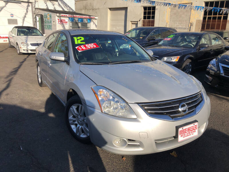 2012 Nissan Altima for sale at Riverside Wholesalers 2 in Paterson NJ