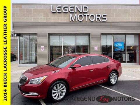 2014 Buick LaCrosse for sale at Legend Motors of Waterford in Waterford MI