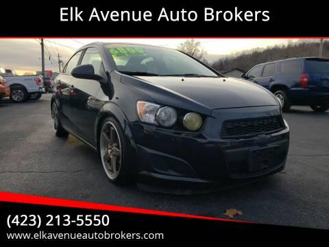 2014 Chevrolet Sonic for sale at Elk Avenue Auto Brokers in Elizabethton TN