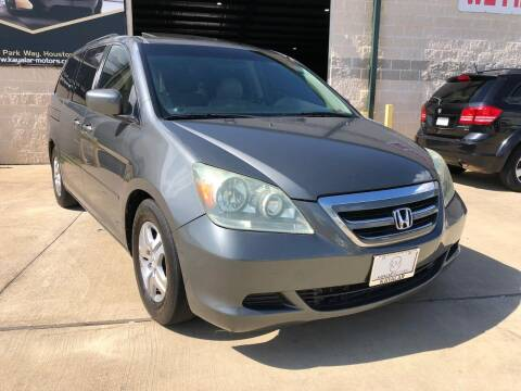 2007 Honda Odyssey for sale at KAYALAR MOTORS Mechanic in Houston TX