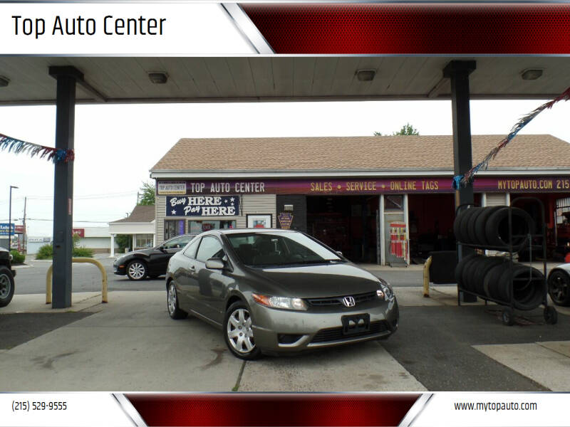 2007 Honda Civic for sale at Top Auto Center in Quakertown PA
