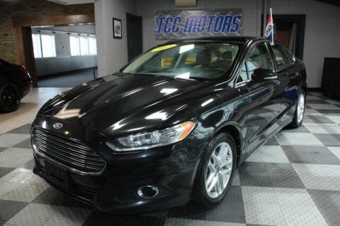 2013 Ford Fusion for sale at TCC Motors in Farmington Hills MI