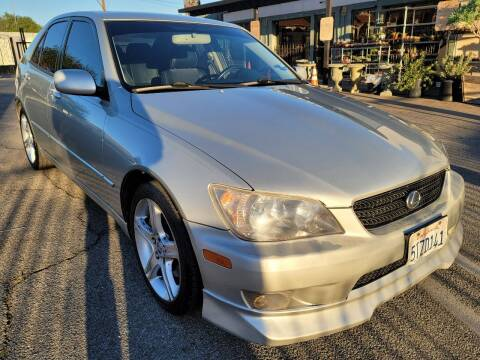 2004 Lexus IS 300 for sale at ZOOM CARS LLC in Sylmar CA