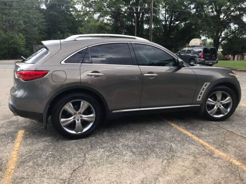 2009 Infiniti FX35 for sale at Paramount Autosport in Kennesaw GA