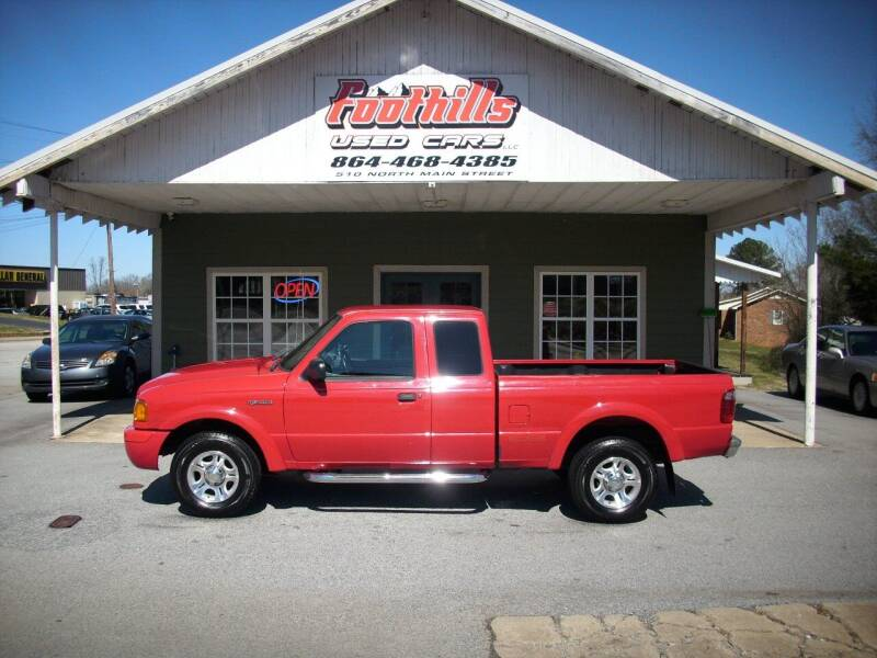2003 Ford Ranger for sale at Foothills Used Cars LLC in Campobello SC