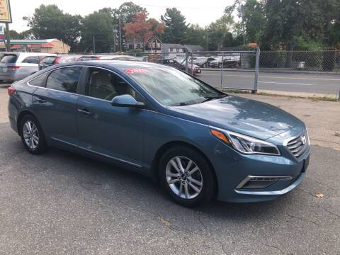 2015 Hyundai Sonata for sale at Chris Auto Sales in Springfield MA