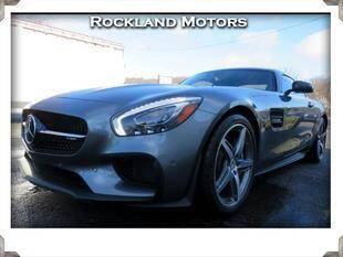 2017 Mercedes-Benz AMG GT for sale at Rockland Automall - Rockland Motors in West Nyack NY