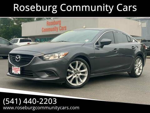 2016 Mazda MAZDA6 for sale at Roseburg Community Cars in Roseburg OR