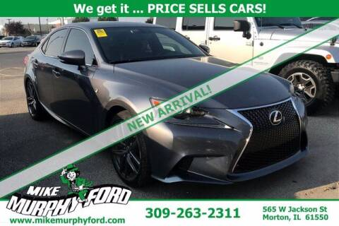 2015 Lexus IS 250 for sale at Mike Murphy Ford in Morton IL