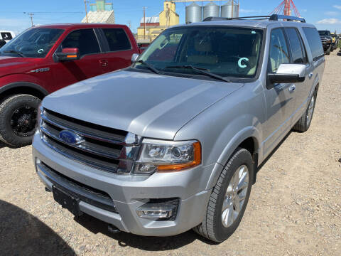 2017 Ford Expedition EL for sale at Truck Buyers in Magrath AB