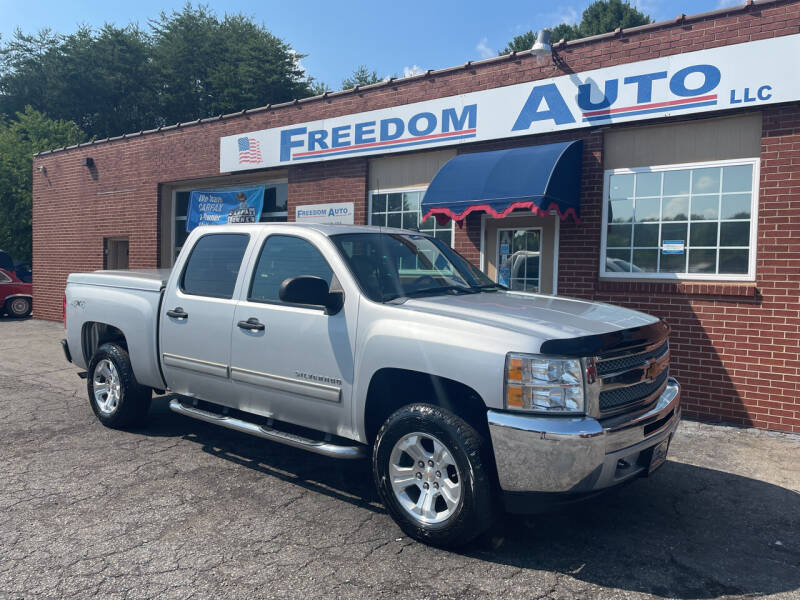 2013 Chevrolet Silverado 1500 for sale at FREEDOM AUTO LLC in Wilkesboro NC