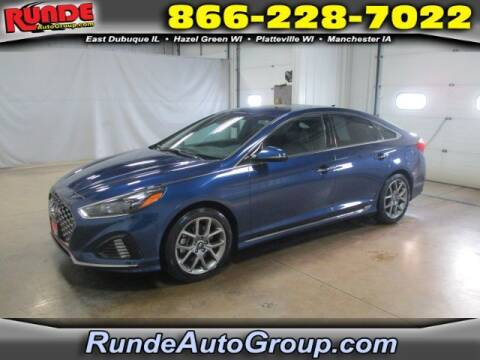 2018 Hyundai Sonata for sale at Runde Chevrolet in East Dubuque IL