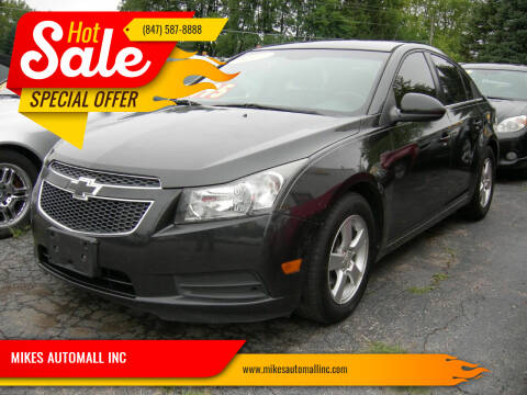 2012 Chevrolet Cruze for sale at MIKES AUTOMALL INC in Ingleside IL