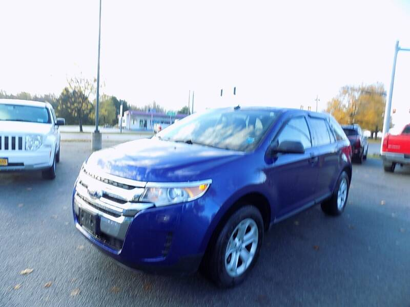 2014 Ford Edge for sale at SUMMIT TRUCK & AUTO INC in Akron NY