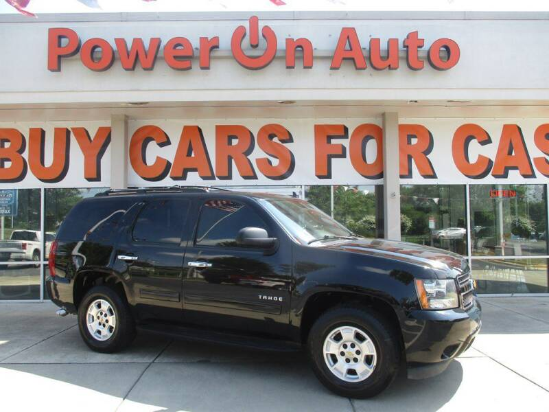 2012 Chevrolet Tahoe for sale at Power On Auto LLC in Monroe NC