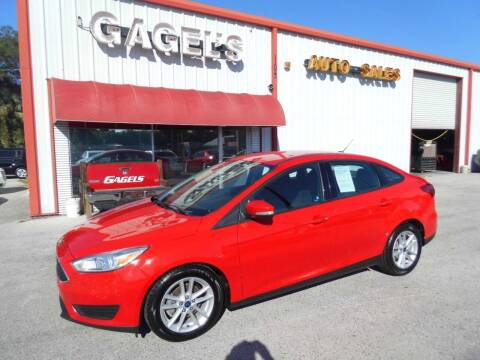 2017 Ford Focus for sale at Gagel's Auto Sales in Gibsonton FL