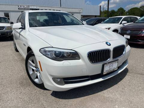 2011 BMW 5 Series for sale at KAYALAR MOTORS in Houston TX