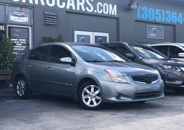 2010 Nissan Sentra for sale at CARUCARS LLC in Miami FL