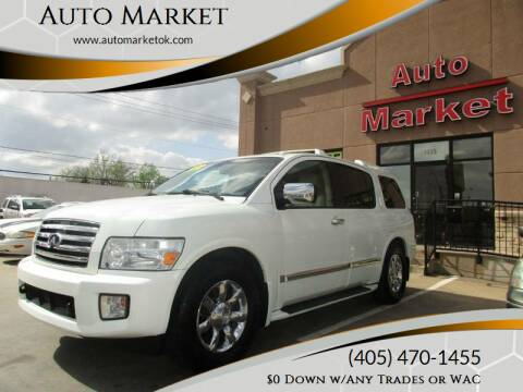 2007 Infiniti QX56 for sale at Auto Market in Oklahoma City OK